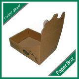 Caja de presentación del papel de Brown Kraft