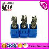 Alta calidad Altin de Jinoo que cubre el cortador del molino de extremo del carburo de tungsteno de la bola de 4 flautas