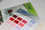 装飾的なペンキのための印刷カラーカード