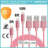 工場価格iPhone6/6s/5/5s/Se/6plus/6sのための速い充満USBケーブルと