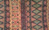 Couro artificial da grão de madeira para sapatas, sacos, vestuário, decoração, mobília (HS-Y88)