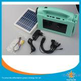"7 "" PolySonnenkollektor Wechselstrom-Solar-Fernsehapparat-3With9V"