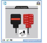 Receptor de carregamento sem fio magnético universal Qi com suporte para dispositivos móveis de tipo C