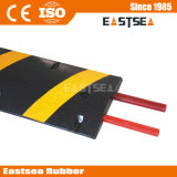 سوداء & مطاط أصفر 6 قدم انعكاسيّة سرعة حدبة جسر رفع