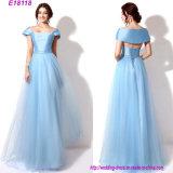 Vestido longo da dama de honra do vestido de noite dos projetos clássicos por atacado da forma