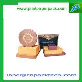 Het aangepaste Afdrukkende Verpakkende Vakje van de Gift van de Honing van de Zorg van de Huid van het Document van de Kunst Kosmetische