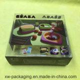 최신 판매 플레스틱 포장 접히는 인쇄된 상자
