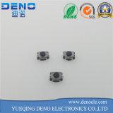 Interruttore illuminato di tatto di 6*6 millimetro con la protezione rotonda del LED