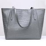 2017 Luxuxkrokodil-Art-Leder-Handtaschen-Frauen-Schulter-Beutel-grosse Größe für Damen Emg5110