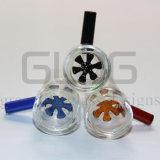 Шар стеклянной вставки Gldg Америка для стеклянной куря трубы