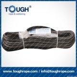 Fibra 100% resistente de Uhwmpe da corda da corda sintética cinzenta do guincho da cor 12mmx28m4X4
