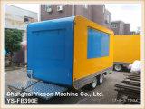 Ys-Fb390e Lebesmittelanschaffung-Schlussteil-Krepp-Nahrungsmittel-LKW für Verkauf