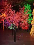 屋外のクリスマスLEDの桜ライトクリスマスの照明