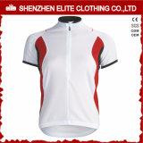 Bicicleta Jersey (ELTCJI-15) de los hombres de ciclo de encargo de la ropa de la alta calidad