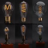 Strings de luz LED strings de lâmpada de pátio de lâmpada nova lâmpada vitrais modernos E27 Lâmpada Pintada artificial de LED