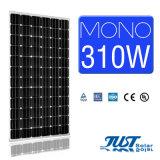 Панели солнечных батарей 310W высокой эффективности Mono с Ce, TUV аттестуют солнечную электрическую систему