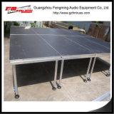 Anti-Skid plataforma de aluminio de larga duración de la Etapa Etapa buena etapa