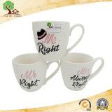 Nuova tazza di ceramica a tamburo della tazza di caffè di Cina di osso per le vendite della fabbrica