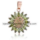 Het roestvrij staal Jewelry Setting Stones van de zonnebloem