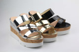 Neues Fashion Lady Sandal Women Shoes mit Shinning Color