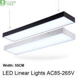 iluminación linear suspendida 3000-6500k de 60W LED