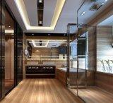Bâtiment matériau bois de la Porcelaine des tuiles de plancher (VRW69K002)