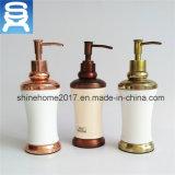 Распределитель жидкостного мыла фарфора кухни или ванной комнаты ручной