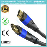 De Slanke Kabel van de hoge snelheid HDMI (ETHERNET, HDMI 2.0, 1080P VOLLEDIGE HD, 4K ULTRAHD, 3D, het ARC, CEG)
