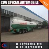 semi-remorque de LPG de camion-citerne de remorque de 56000L 28mt LPG Transort
