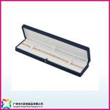 Rectángulo de joyería de papel plegable barato de la alta calidad