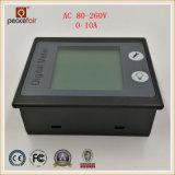 360 метр энергии силы амперметра напряжения тока одиночной фазы 0-10A AC LCD степени цифровой