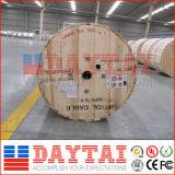 Câble optique 2~24 de la fibre extérieure GYXTW de faisceau pour l'application de conduit
