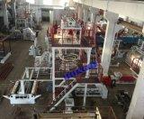 高容量自動巻取り機が付いている3つの層のCoextrudingのフィルムの吹く機械