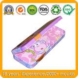 Metallbleistift-Kasten für Kinder, Bleistift-Zinn-Kasten