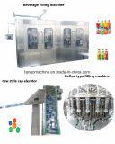 Coca-cola Pepsi-cola della soda della spremuta dell'acqua potabile della bottiglia dell'animale domestico macchina di coperchiamento di riempimento di lavaggio dell'unità 3 in-1