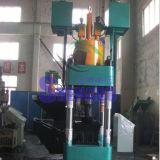 O bronze hidráulico do ferro da sucata de Automaic lasca a máquina da ladrilhagem
