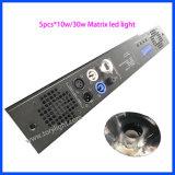 China Matrix DMX 5HP*10W luz branca quente