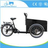 Cheap 3 Wheel Electric Tricycle Cargo Bike Price / Cargobike Factory / Kids Cargo Triciclo Bicicleta