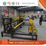 Installation facile de machine de fabrication de clôture en chaîne entièrement automatique