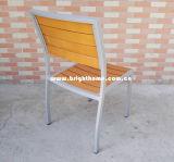 Cadeira de exterior alumínio plástico madeira