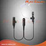 écouteur de la surveillance 2-Wires pour Motorola Gp328plus/Gp344/Gp388, etc.