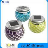 Nbc-9101 ABS y el material de vidrio solar LED de vidrio de alta calidad