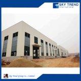 Edificio de alta calidad Estructura Naves de acero con H Beam