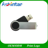 Plastik-USB-Stock-Metall-USB-Flash-Speicher-Schwenker USB-Blitz-Laufwerk