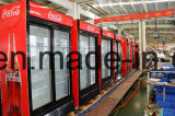 고속 냉각에 있는 1400L 양쪽으로 여닫는 문 진열장 냉각기