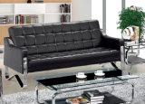 Klassisches Büro-Leder-Sofa mit rostfreiem Spant 8805/8809 auf Lager