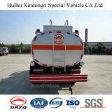 Caminhão de petroleiro do combustível de petróleo da gasolina da gasolina do euro 4 6cbm Dongfeng
