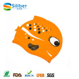 Capa de natação de silicone unisex de desenho de desenhos animados de produtos novos para venda