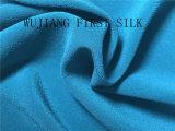 Mistura de algodão tecido crepe de seda