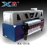 Cabeça de impressão 5113 da impressora -1.8m quatro de Xuli (3PL) direta à impressora de matéria têxtil do DTG do vestuário